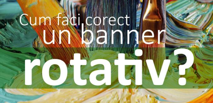 Grafica banner rotativ site