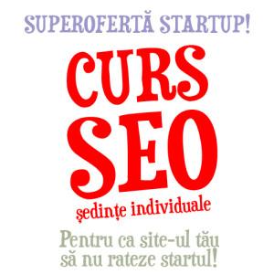 Curs SEO pentru startups
