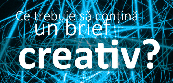 Brief de grafică - creație (logo, materiale promoționale)
