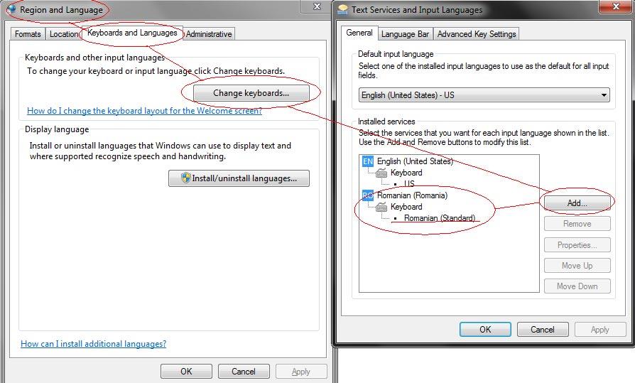 Cum adaugi tastatura cu diacritice pentru limba română în Windows