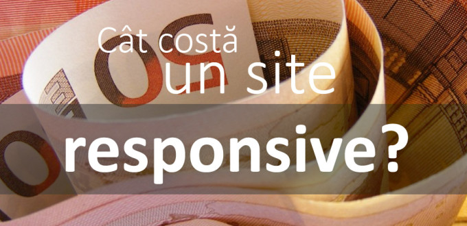 Cat costa un site responsive?