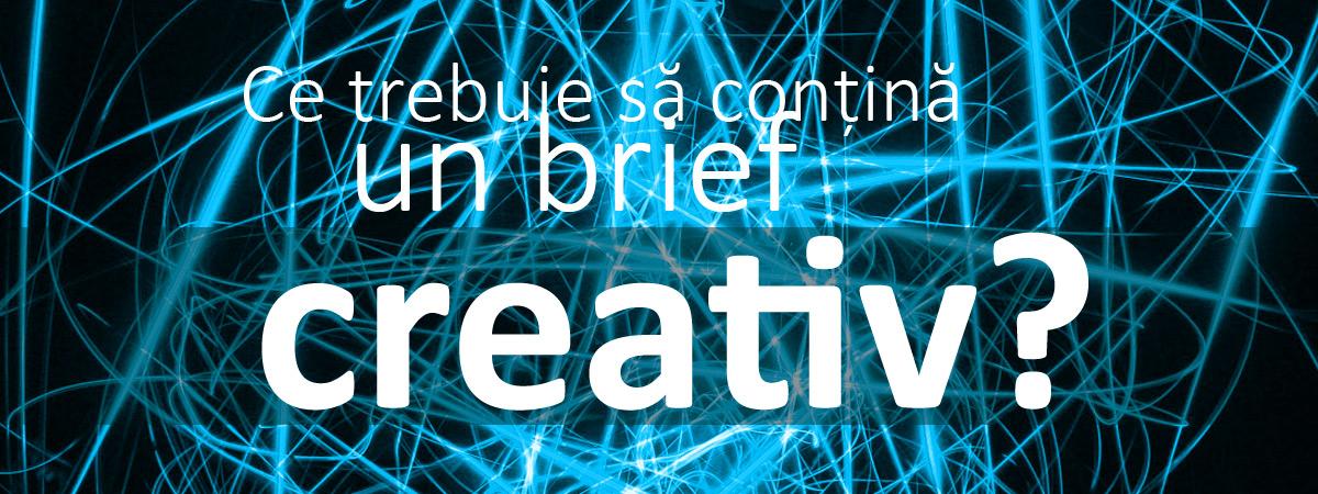 Brief de grafică - creație (logo, materiale promoționale)