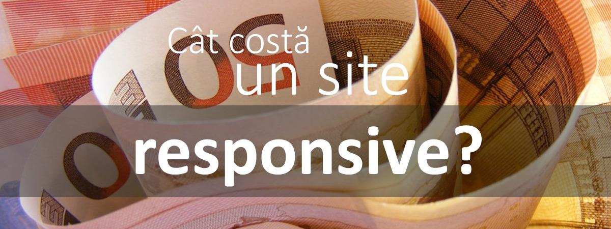 Cat costa un site responsive?